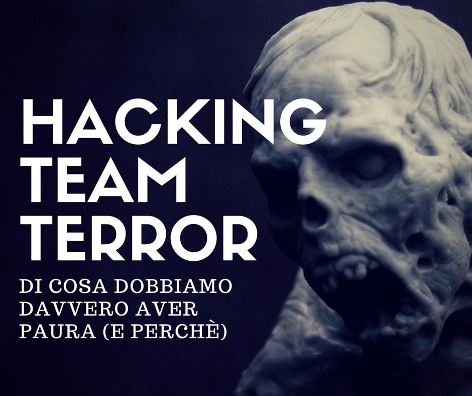 HACKINGTEAMterror